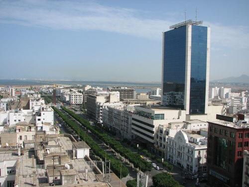 Avenida-Habib-Bourguiba-ciudad-Túnez