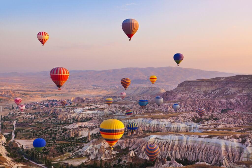 Capodacia-Turquía