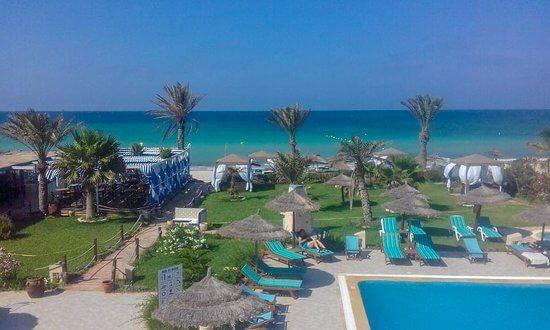 Playa Sidi Mehrez-Túnez