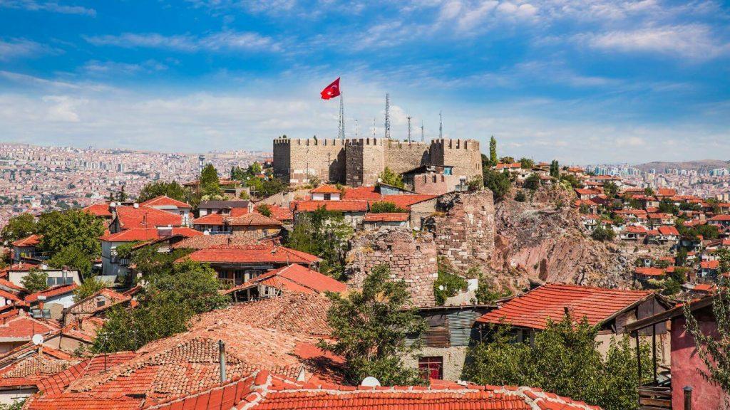 Castillo-Ankara-Turquía