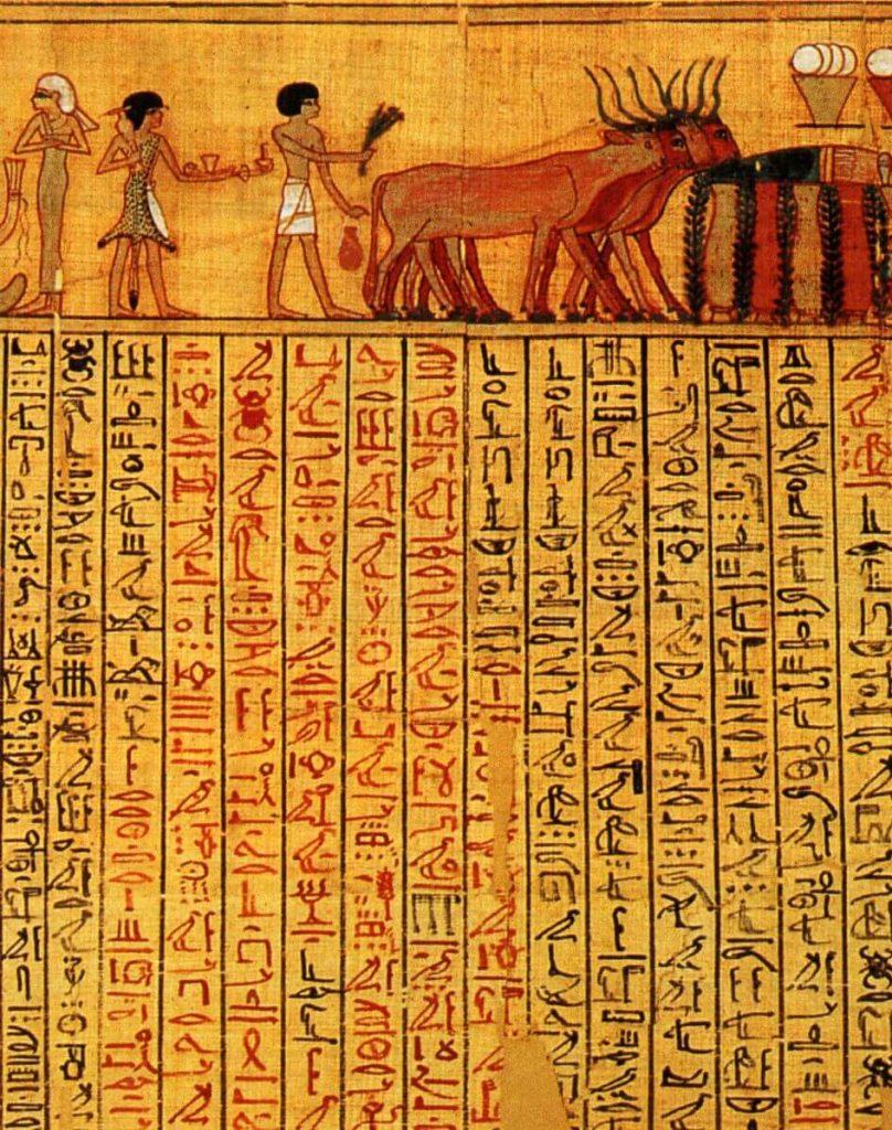 Escritura-Egipcia