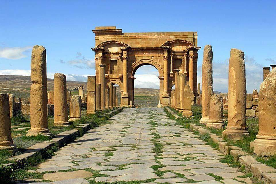 Ruinas-romanas-de-Argelia