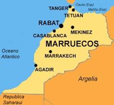 Mapa-Marruecos