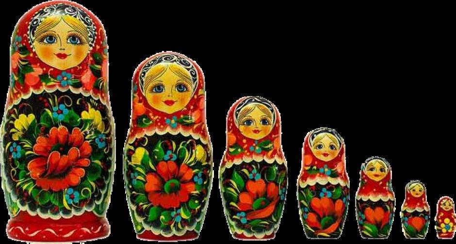 Matrioskas-Rusia