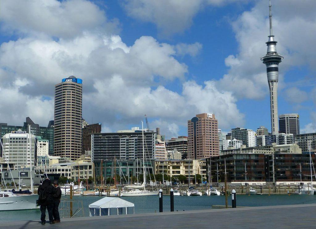 Ciudad Auckland-Sky-Tower-Nueva-Zelanda